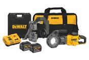 DeWalt FLEXVOLT 60V MAX* Cordless Pipe Threader Kit, 1/EA, #DCE700X2