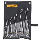DeWalt 5 Piece Offset Box Wrench Sets, Inch, 1/ST, #DWMT19255