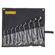 DeWalt 9 Piece Offset Box Metric Wrench Sets, 1/ST, #DWMT19263