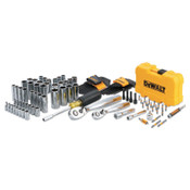 DeWalt Mechanics Tools Set, 108 pc, 1/4 in and 3/8 in Drive, 1/EA, #DWMT73801