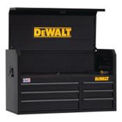 DeWalt 700 Series Top Tool Chest,41 in Wide Tool Chest, 6-Drawer, Black, 1/EA, #DWST24062