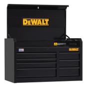 DeWalt 900 Series Top Tool Chest, 41 in Wide Tool Chest, 7-Drawer, Black, 1/EA, #DWST24071