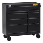 DeWalt 700 Series Rolling Tool Cabinet, 41 in Wide, 9-Drawer, Black, 1/EA, #DWST24190