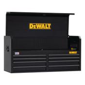 DeWalt 700 Series Top Tool Chest, 52 in Wide, 8-Drawer, Black, 1/EA, #DWST25181