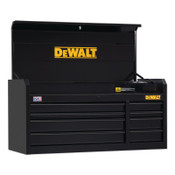 DeWalt 900 Series Top Tool Chest, 52 in Wide Tool Chest, 8-Drawer, Black, 1/EA, #DWST25182