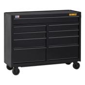 DeWalt 700 Series Rolling Tool Cabinet, 52 in Wide, 9-Drawer, Black, 1/EA, #DWST25292