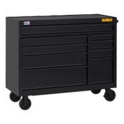 DeWalt 900 Series Rolling Tool Cabinet, 52 in Wide, 9-Drawer, Black, 1/EA, #DWST25294