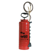Chapin™ 3.5 gal Ind Viton Concrete Open Head Sprayer, Red, 24 in Wand, 48 in Hose, 1/EA, #1949
