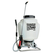 Chapin™ Commercial Duty Jet Clean Backpack Sprayer, 4 gal, 20 1/2 in Ext., 48 in Hose, 1/EA, #63900