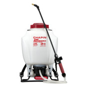 Chapin™ Rechargeable Backpack Sprayers, 4 gal, 48 in Hose, 20 in Wand, 35-40 psi, 1/EA, #63924