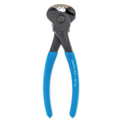 Channellock Cutting Pliers-Nippers, 6 in, Polish, Plastic-Dipped Grip, 1/EA, #356BULK