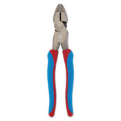 Channellock Code Blue Linemens Pliers, Code Blue Over Mold Grip Handle, 1/EA, #369CRFTCBBULK