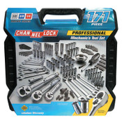Channellock 171 Pc. Mechanic's Tool Sets, 1/ST, #39053