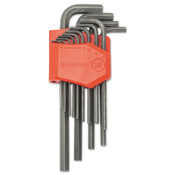 Apex Tool Group 13 Piece Long Arm SAE Hex Key Sets, Hex Tip, Inch, 1/ST, #CHKLASAE13