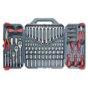 Apex Tool Group General Purpose Tool Sets, 148 Pieces, 1/ST, #CTK148MPN