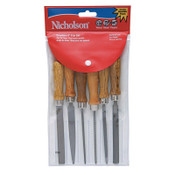 Apex Tool Group American Pattern File Assortments, Bastard Cut, 4 in, 1/EA, #22062NN