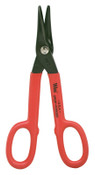 Apex Tool Group Combination Pattern Snips, Cushion Grip Handle, Cuts Right, Left, and Straight, 1/EA, #V19N