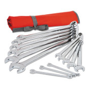 Apex Tool Group 14 Piece SAE Combination Wrench Sets, 12 Points, SAE, 1/ST, #CCWS4