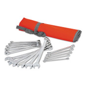 Apex Tool Group 15 Piece Metric Combination Wrench Sets, 12 Points, Metric, 1/ST, #CCWS5