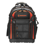 Apex Tool Group Tradesman Backpack, 38 pockets, 14 in L x 10 in W x 18 in H, 1/EA, #CTB1000