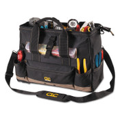CLC Custom Leather Craft Soft Side Tool Bags, 23 Compartments, 8 in X 11 in, 1/EA, #1534