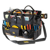 CLC Custom Leather Craft Soft Side Tool Bags, 37 Compartments, 11 in X 11 in, 1/EA, #1535
