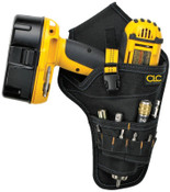 CLC Custom Leather Craft Cordless Drill Holsters, Holds Most T-handle drills, Polyester, 2/EA, #5023