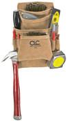 CLC Custom Leather Craft 10 Pocket Carpenter's Nail & Tool Bag, 1/EA, #I923X