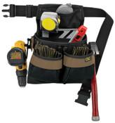 CLC Custom Leather Craft 5 POCKET  FRAMER'S NAIL & TOOL BAG WITH POLYWEB, 2/EA, #PK1836