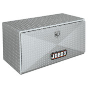 Apex Tool Group Underbed Truck Boxes, 48 in W x 18 in D x 18 in H, Aluminum, Silver, 1/EA, #409000