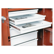 Apex Tool Group Replacement Shelf for Rolling Work Bench, 22 13/16x15 5/16x2 1/2, Steel, White, 1/EA, #608990