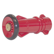 Dixon Valve Polycarbonate Fire Hose Nozzles, Straight, 25.1 CFM at 100 psi, 3/4 Thread, 1/EA, #FNB75GHT