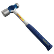 Estwing Ball Pein Hammer, Straight Nylon Vinyl Handle, 14-1/2 in, 32 oz Steel Head, 1/EA, #E332BP