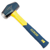 Estwing Sure-Strike Drilling Hammers, 2 lb, 11 in, Straight Fiberglass Handle, 2/EA, #MRF2LB
