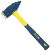 Estwing Sure-Strike Blacksmith's Hammers, 40 oz, Straight Fiberglass Handle, 2/CT, #MRF40BS