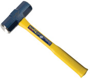 Estwing Sure-Strike Engineers Hammers, 64 oz, 14 in, Straight Fiberglass Handle, 2/CT, #MRF64E