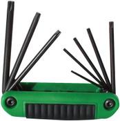 Eklind Tool 8 PC SET ERGO-FOLD HEXKEY, 1/SET, #25581