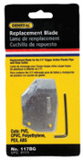 General Tools Replacement Blade, 1/EA, #117BG