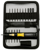General Tools 18 Pc. UltraTech Interchangeable Blade Screwdriver Sets, 3/ST, #63518