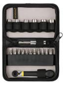 General Tools 18 Pc. Ratchet Offset Screwdriver Sets, 1/ST, #80078
