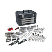 Apex Tool Group Mechanics Tool Set in 3 Drawer Storage Boxes, 232 Pc., 1/ST, #80944