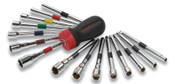 Apex Tool Group 16PC GEARED NUT DRIVERSET, 1/SET, #8916D