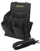 Greenlee Tool Caddys, 20 Compartments, Cordura Fabric, 12/EA, #52024819