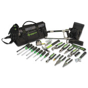 Greenlee Heavy-Duty Multi-Pocket Tool Kits, 8 Compartments, 12 1/2 in x 23 in, 1/EA, #015928MULTI