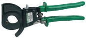 Greenlee Performance Ratchet Cable Cutters, 10 in, Shear Cut, 1/EA, #50452061