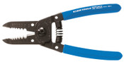 Klein Tools Wire Stripper-Cutter, 10-22 AWG, Blue, 1/EA, #1011