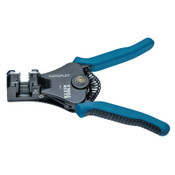 Klein Tools Katapult Wire Stripper/Cutters, 6 5/8 in, 8-22 AWG, Blue/Black, 1/EA, #11063W