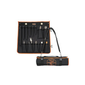 Klein Tools UTILITY INSULATED 13-PCTOOL KIT W/ROLL-UP CASE, 1/EA, #33525SC