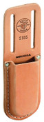 Klein Tools Knife Holders, 1 Compartment, Leather, 1/EA, #5185