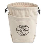 Klein Tools BOLT BAG-CANVAS W/CLOSURE/PKT, 1/EA, #5416TCP